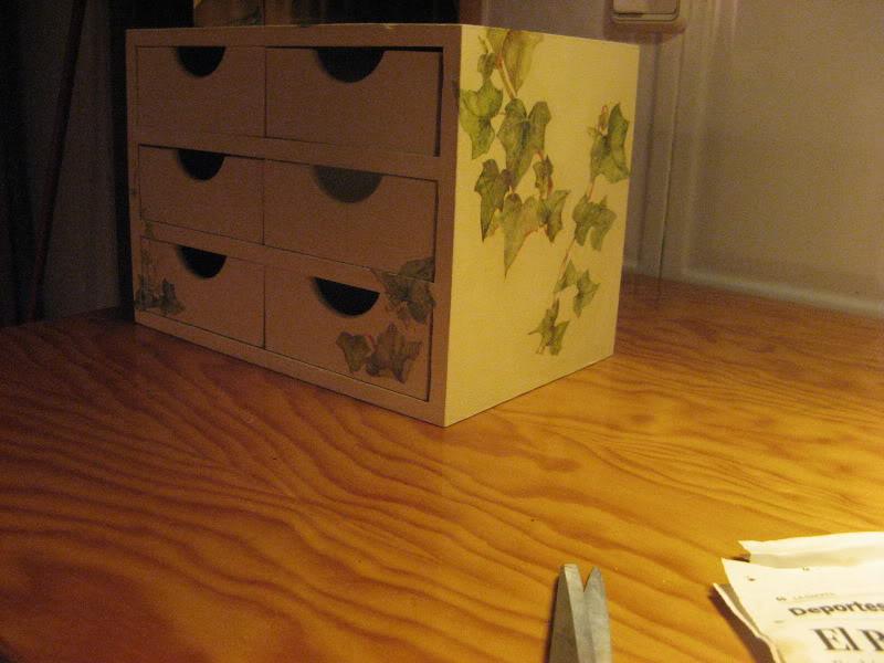 Craquelar sobre madera Manualidades538