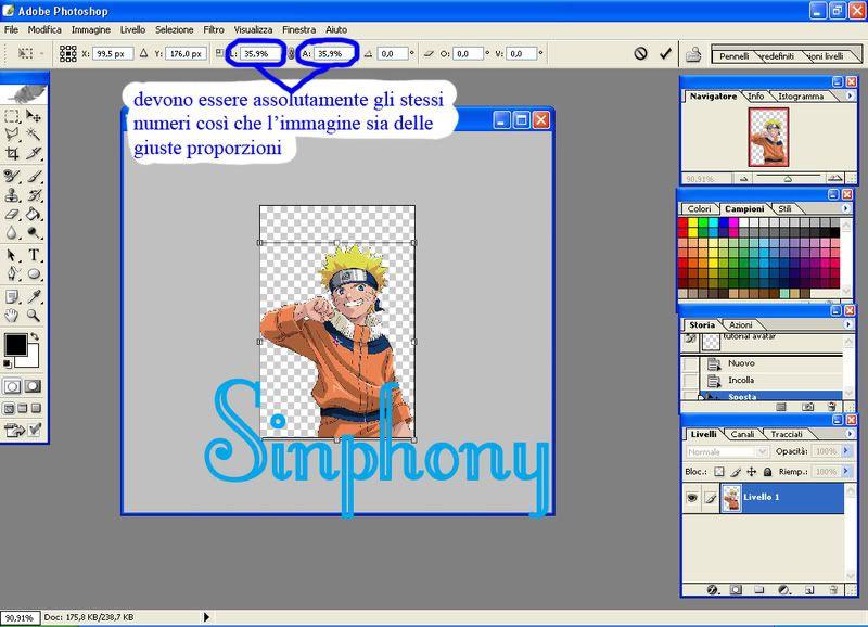 Creare un avatar da 0 [dif facile] 2a
