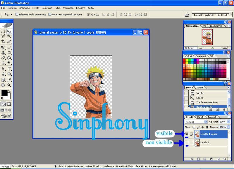 Creare un avatar da 0 [dif facile] 3