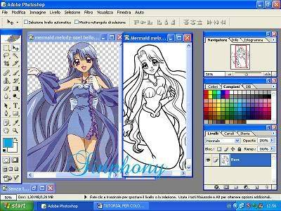 Come colorare in stile anime! (mio primo tut) 2