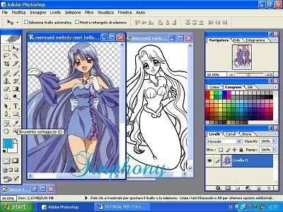 Come colorare in stile anime! (mio primo tut) 3