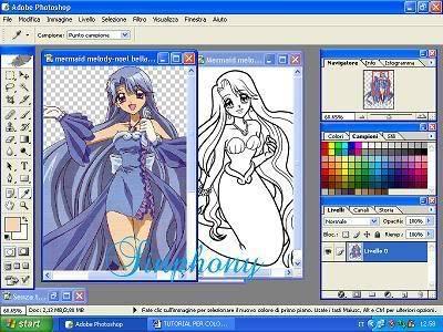 Come colorare in stile anime! (mio primo tut) 4