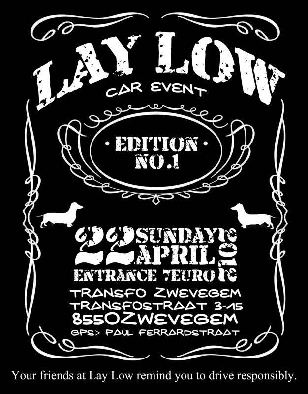 22-04-2012 Lay Low No.1 (B) Laylowflyer1-1
