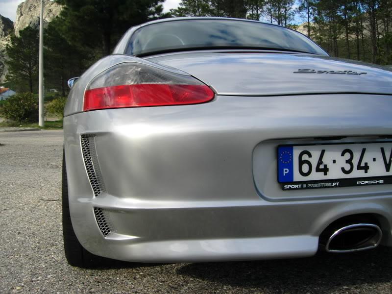 """Porsche Boxster 986 2.7 """"GT3 Look"""" do Admin  2-2-08019"""