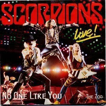 Michi crece Scorpions