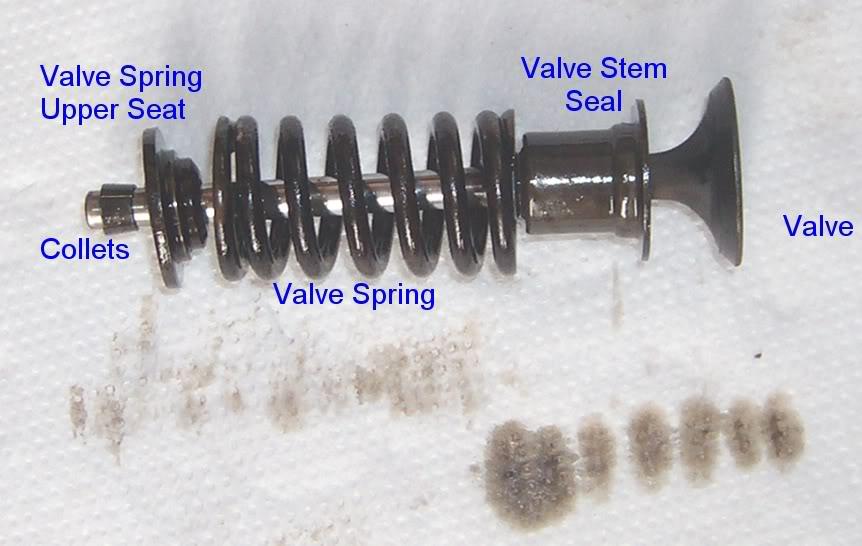 Changing Zetec Valve stem seals 100d4059