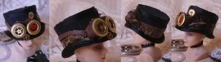 Victorian Steampunk Hats Steampunkhatsmar2010094-horz