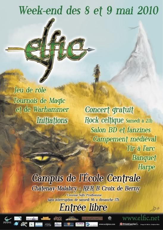 [8 & 9 Mai] Festival Médiéval & Jdr - Elfic 2010 Elfic2k10