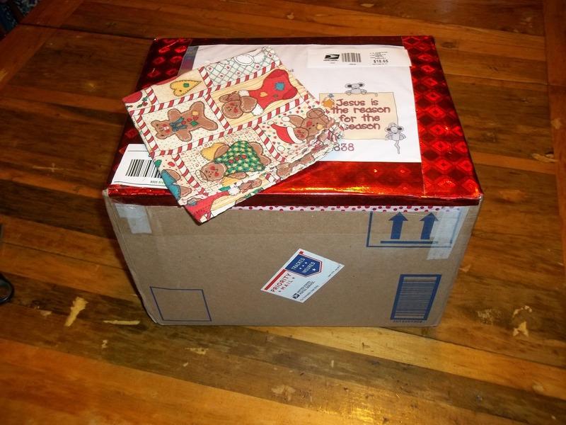 My awesome Secret Santa presents 100_5140