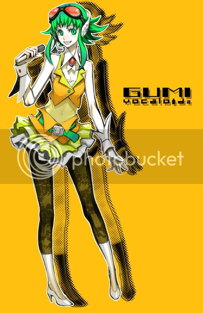 Gumi (Megpoid) GUMI