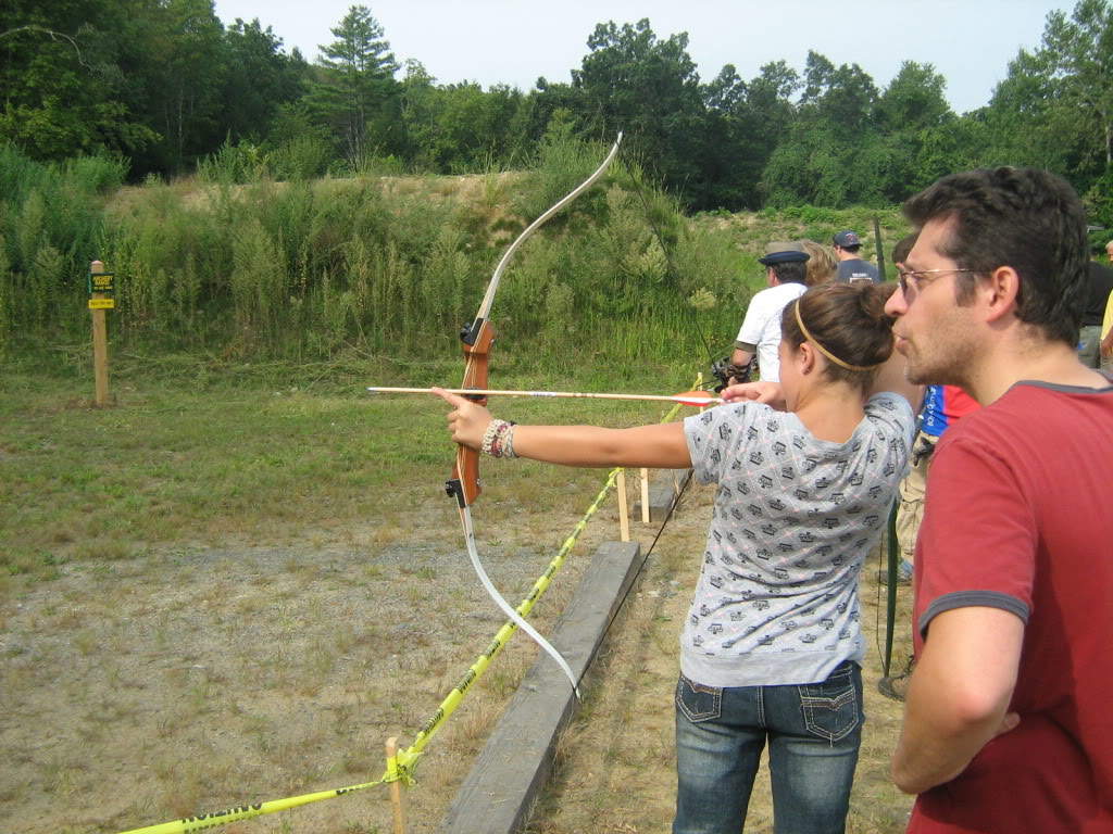 Family archery day - bows, crossbows, atlatls 130_full
