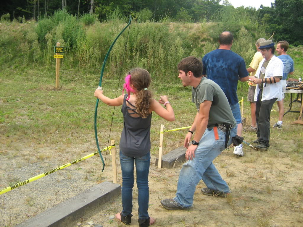 Family archery day - bows, crossbows, atlatls 132_full
