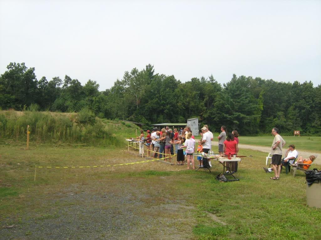 Family archery day - bows, crossbows, atlatls 139_full