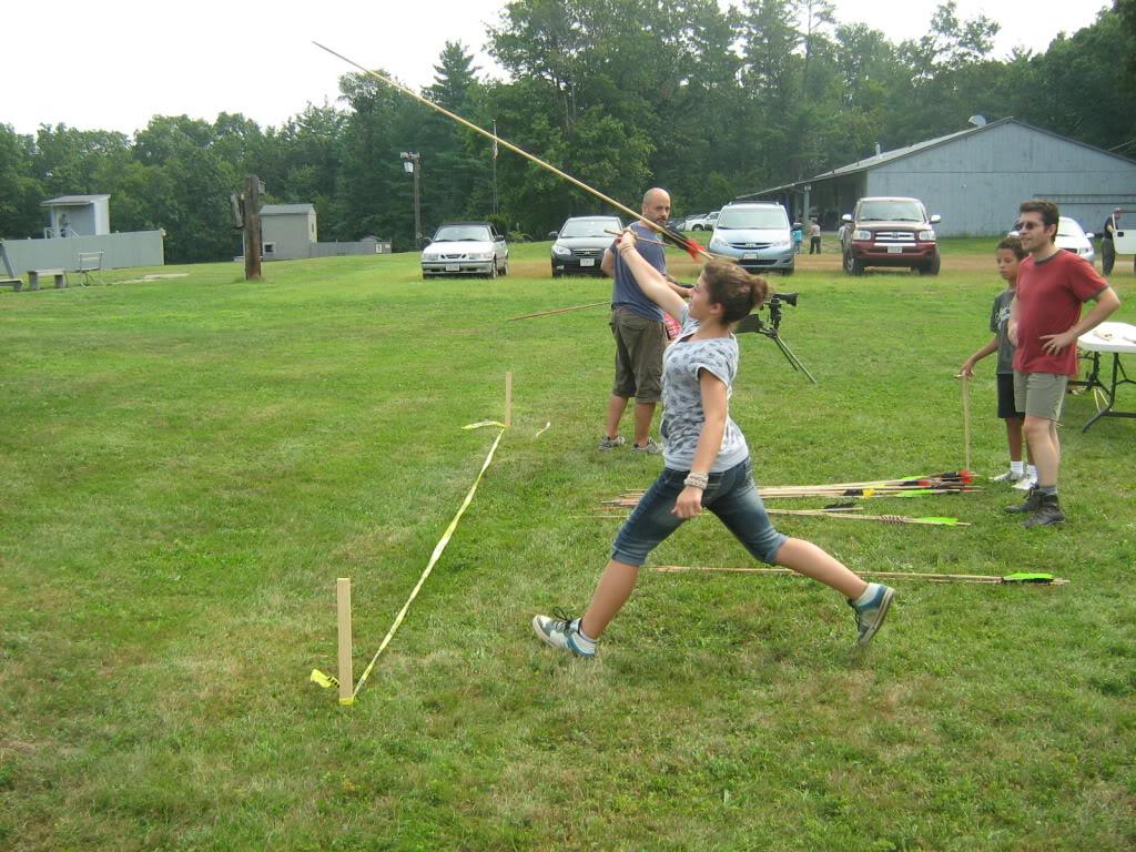 Family archery day - bows, crossbows, atlatls 141_full