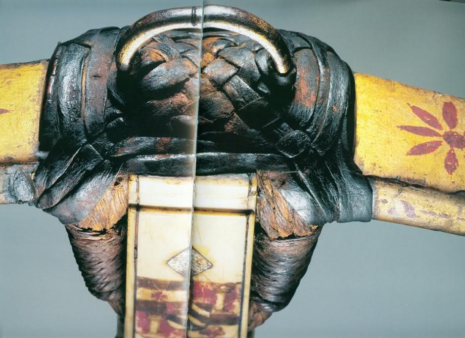Leather braiding to bind on stirrup ArmbrustA1032_9kl