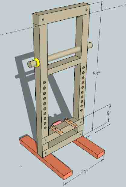 A bow press idea Press