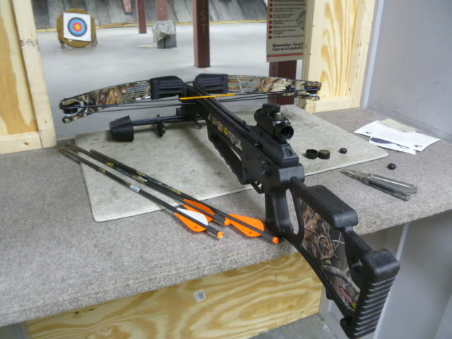 Example of modern recurve crossbow Scout1