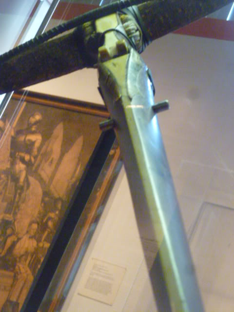 Original 14th century German crossbow photos, from Higgins Armory.  Various13112-2