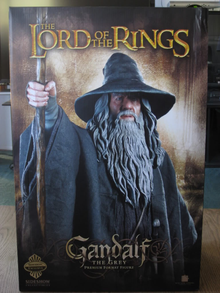 LOTR: GANDALF THE GREY Premium format IMG_7732