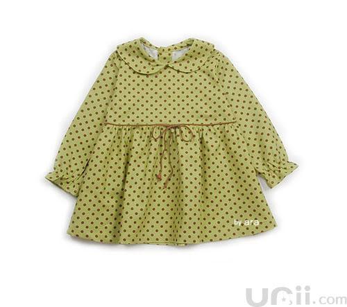 فستان بنوتة جميل مع الباترون 1-7