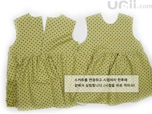فستان بنوتة جميل مع الباترون 7-7