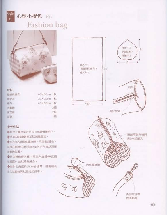 مجلة شنط روعة مع البترون A63