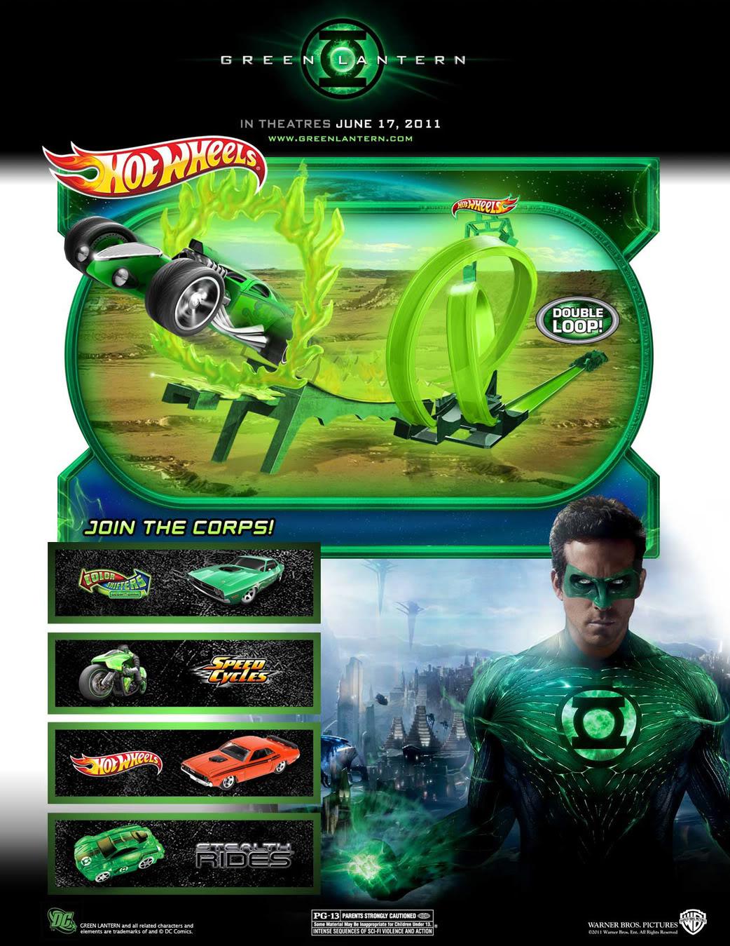 [Mattel] [Tópico Oficial] Figuras do filme Lanterna Verde! - Página 11 HotWheels