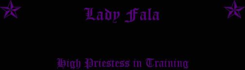 Lady Fala