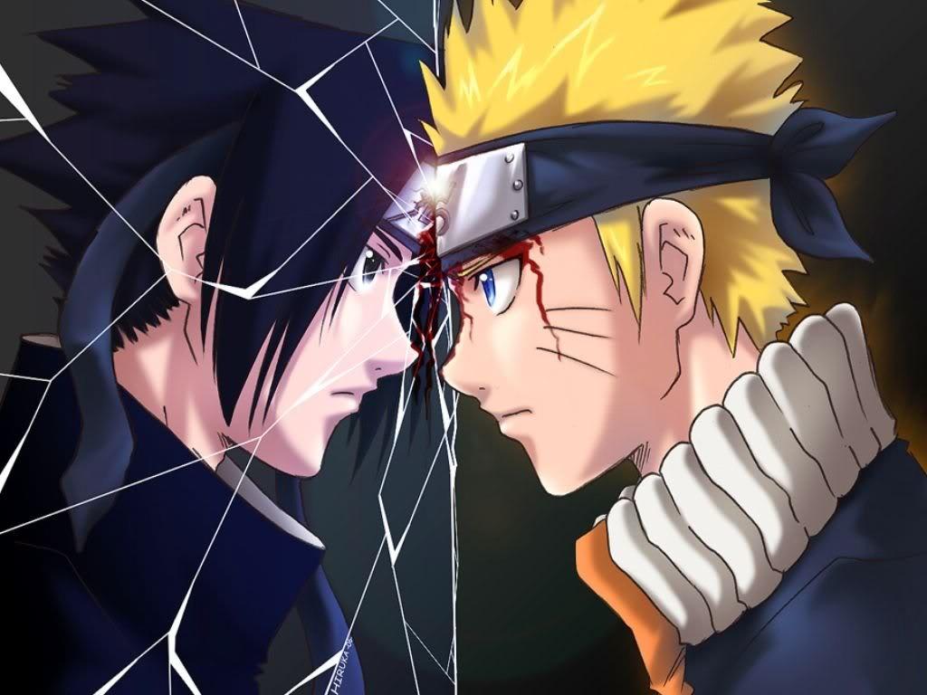 خلفيات الانمي Sasuke-naruto