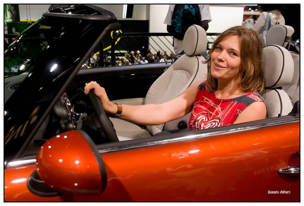 Milka et Donato au Mondial de l'Auto IMGP3675