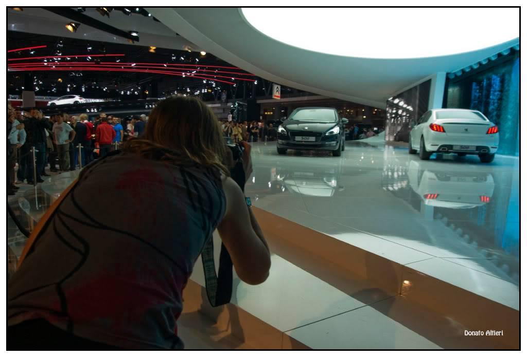 Milka et Donato au Mondial de l'Auto IMGP3704