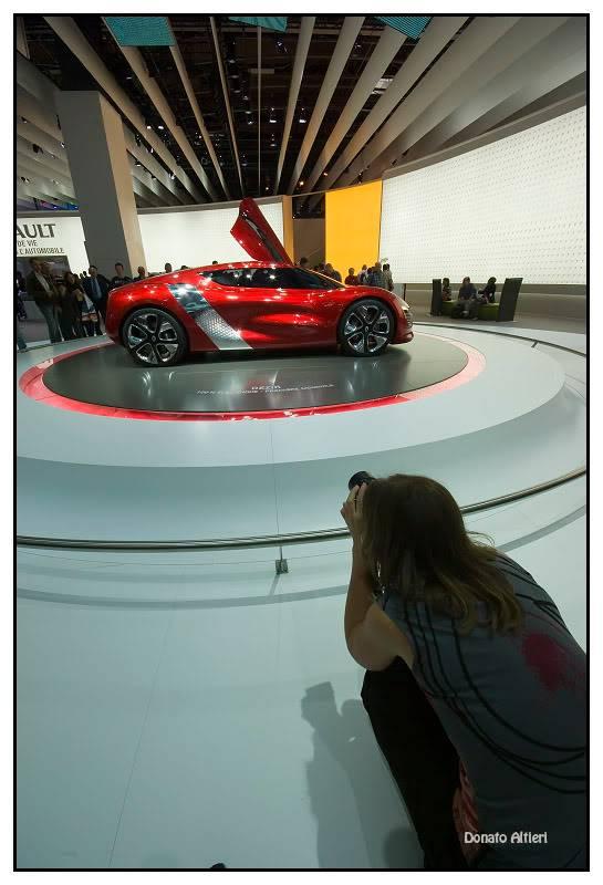 Milka et Donato au Mondial de l'Auto IMGP3755
