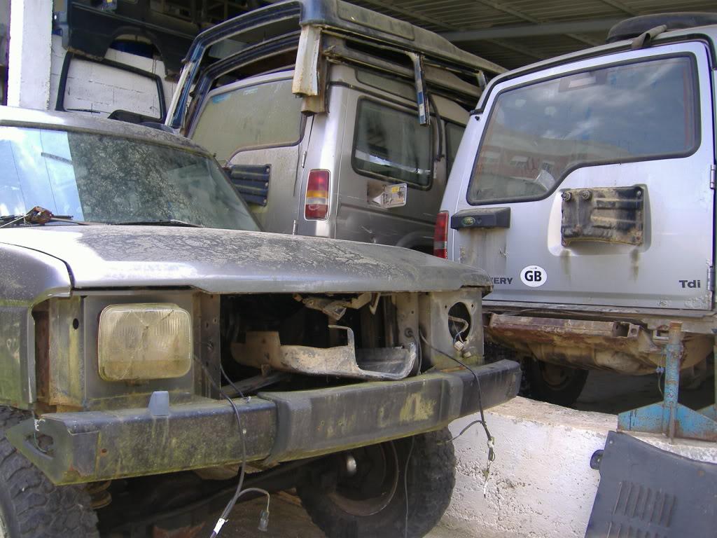 Material usado LAND ROVER 201105