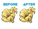DaltonR6's Pokemon Sprite Edits/Splices NinetailsOvershade