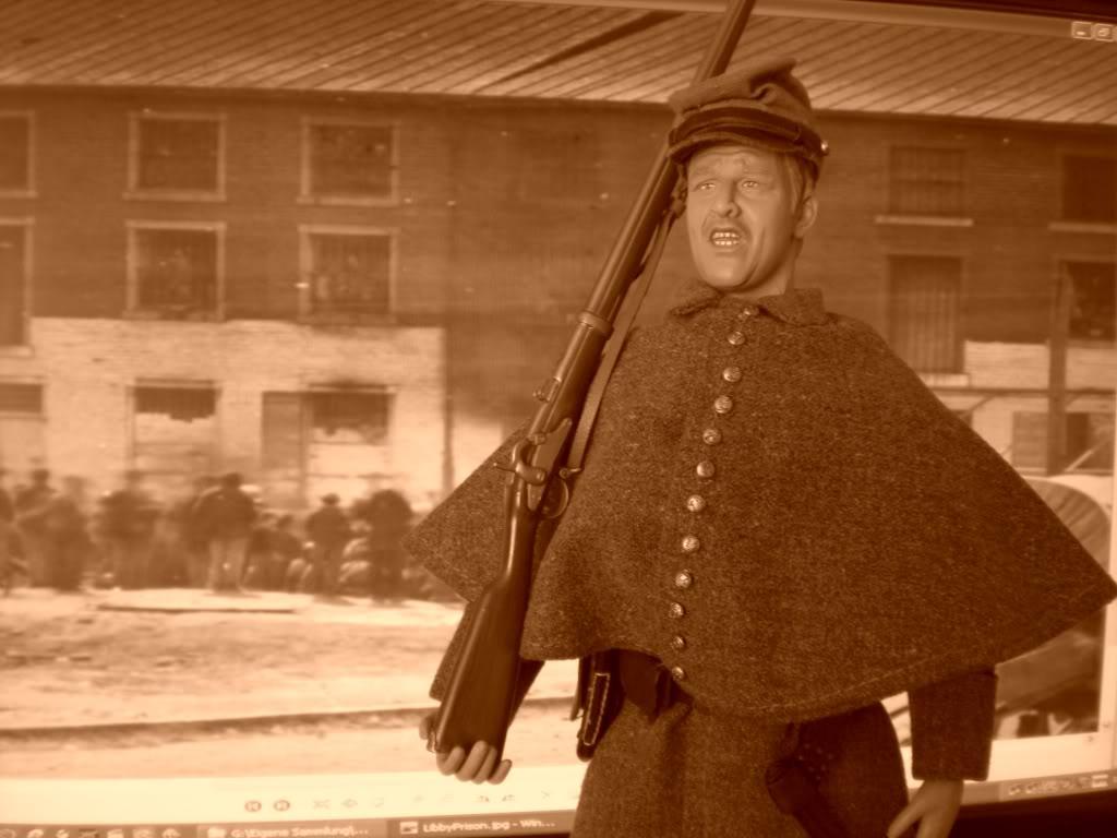 A Guard of Libby Prison Richmond Virginia 1863! CIMG5182