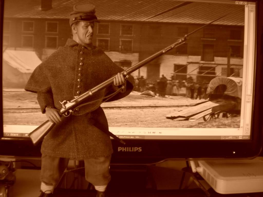 A Guard of Libby Prison Richmond Virginia 1863! CIMG5224
