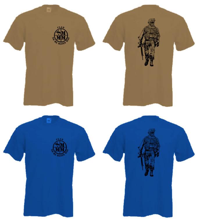 CAMISETAS CLAN: FASE 3.5  ENTREGA ¡¡¡ iujuuuuuu !!! CamisetaAZULOKAKI