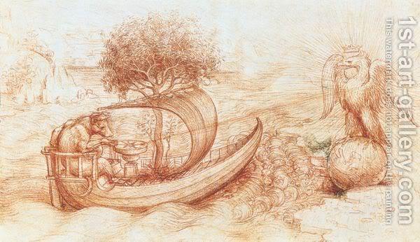 Leonardo da Vinči -And-Eagle