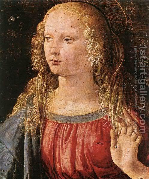 Leonardo da Vinči Annunciation-28detail-329-1472-75