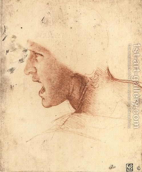Leonardo da Vinči Head-Of-A