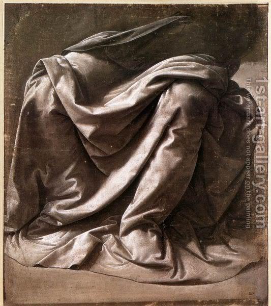 Leonardo da Vinči Seated-Figure