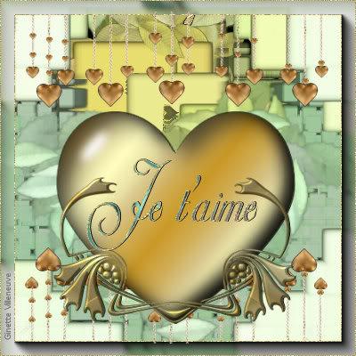 Section Je t'aime, amour & coeurs Coeur-ginette-villeneuve-1