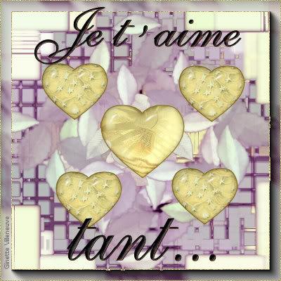 Section Je t'aime, amour & coeurs Coeur-ginette-villeneuve-2