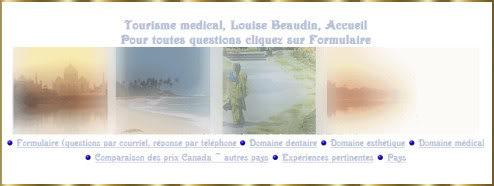 Plusieurs des sites de Gi  Louise-beaudin-tourisme-medical