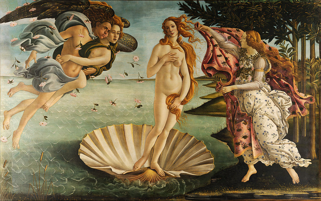 National Nude Day TheBirthofVenus