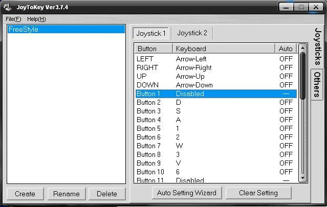 Software JoyStick 1-1