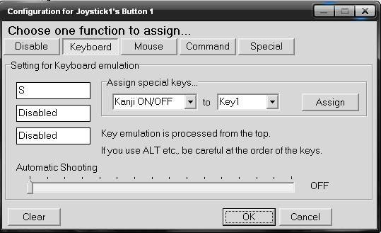Software JoyStick 3-1