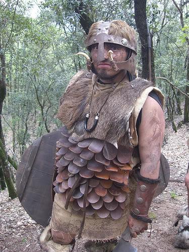 armadura de cuero endurecido (cocido) Superalmogavar