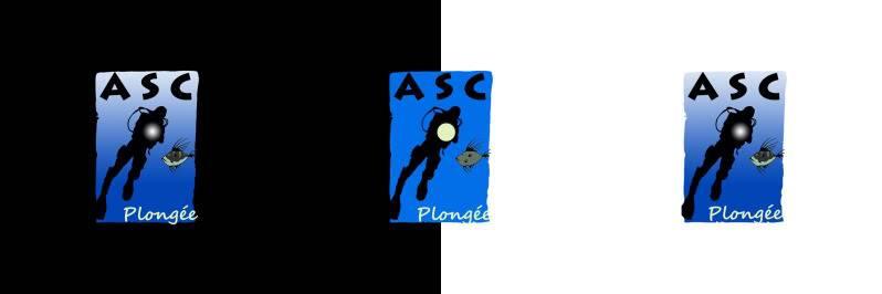 Un nouveau logo pour l'ASC Plongée :  LE GRAND VOTE Bandeausilhouette