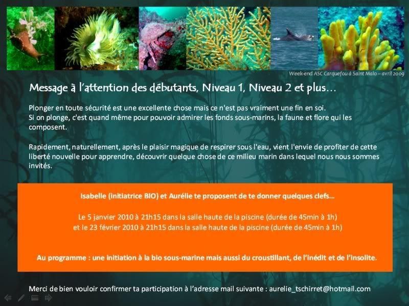 Qui veut apprendre 2 ou 3 trucs en Bio Sous-marine ? Invitationpage1